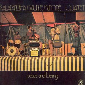 CD Peace and Blessing di Kalaparusha Maurice McIntyre (Quartet)
