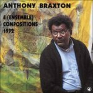 CD Ensemble-Compositions 92 di Anthony Braxton