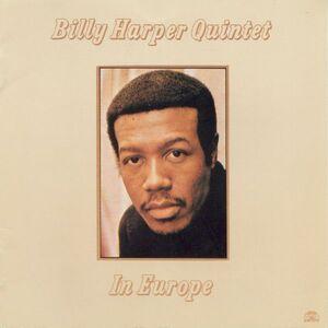 Foto Cover di In Europe, CD di Billy Harper (Quintet), prodotto da Soul Note