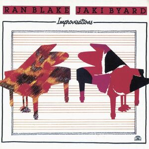 Foto Cover di Improvisations, CD di Ran Blake, prodotto da Cam Jazz