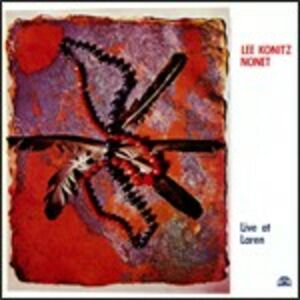 CD Live at Laren di Lee Konitz (Nonet)
