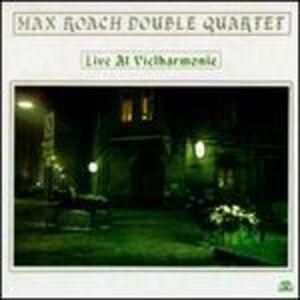 Foto Cover di Live at Vielharminie, CD di Max Roach (Double Quartet), prodotto da Soul Note