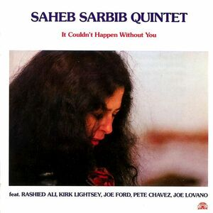 CD It Couldn't Happen Without you di Saheb Sarbib (Quartet)