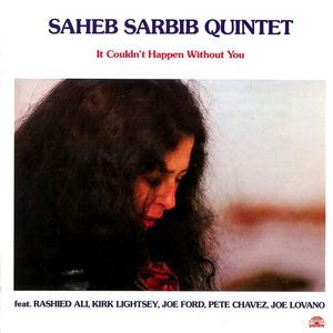 CD It Couldn't Happen Without you di Saheb Sarbib (Quartet)