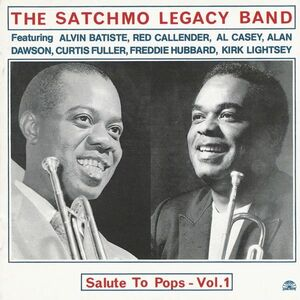 CD Salute to Pops vol.1 di Satchmo Legacy Band