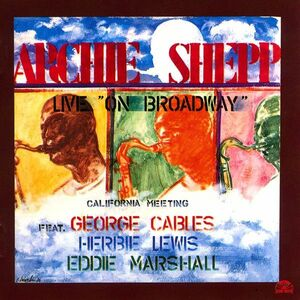 CD Live on Broadway di Archie Shepp