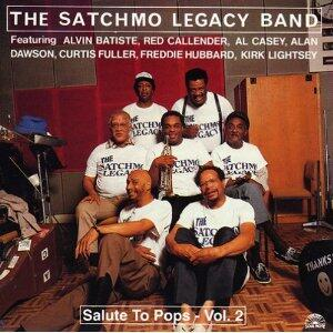 Salute to Pops vol.2 - CD Audio di Satchmo Legacy Band