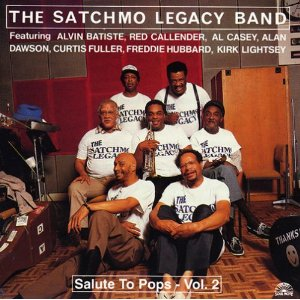 CD Salute to Pops vol.2 di Satchmo Legacy Band