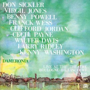 CD Live at the Theatre Boulogne di Dameronia