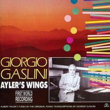 Ayler's Wings - Vinile LP di Giorgio Gaslini