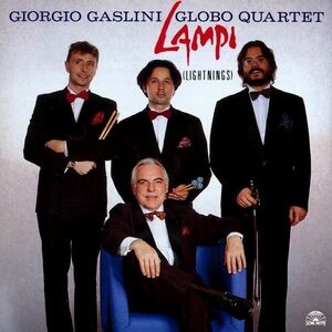 CD Lampi (Lightnings) Giorgio Gaslini , Globo Quartet