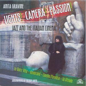 CD Lights, Camera, Passion: Jazz & Italian Cinema di Anita Gravine