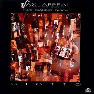 CD Giotto di Sax Appeal Saxophone Quartet
