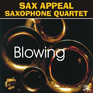 CD Blowing di Sax Appeal Saxophone Quartet