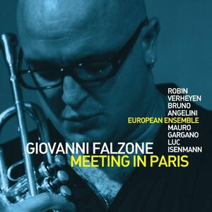 Foto Cover di Meeting in Paris, CD di Giovanni Falzone,European Ensemble, prodotto da Soul Note