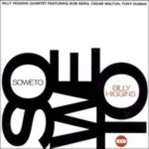 Foto Cover di Soweto, CD di Billy Higgins, prodotto da Red Records