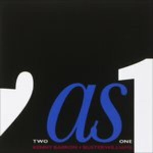 CD Two As One Kenny Barron , Buster Williams