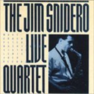 CD Live di Jim Snidero (Quartet)