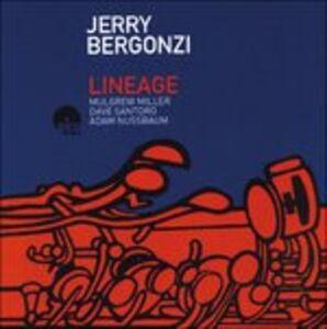 CD Lineage Jerry Bergonzi , Mulgrew Miller