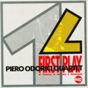CD First Play di Piero Odorici (Quartet)