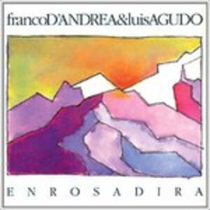 Enrosadira - CD Audio di Franco D'Andrea,Luis Agudo
