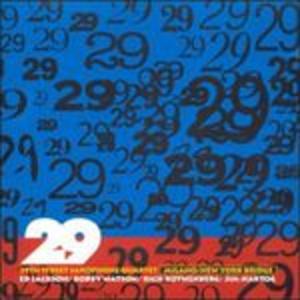 CD Milano-New York Bridge di 29th Street Saxophone Quartet