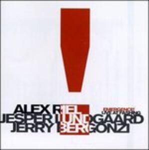 CD Emergence Alex Riel , Jerry Bergonzi , Jesper Lungaard
