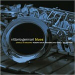 Foto Cover di Blues, CD di Vittorio Gennari, prodotto da Red Records