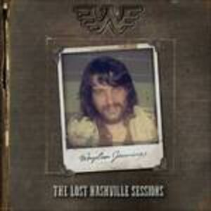 CD Lost Nashville Sessions di Waylon Jennings