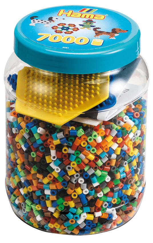 Hama Beads 2021 mosaico