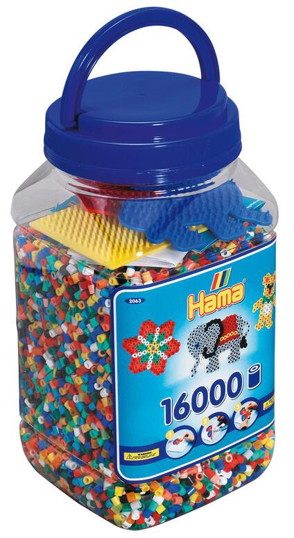 Hama Beads 2063 schema per decorazione con perline