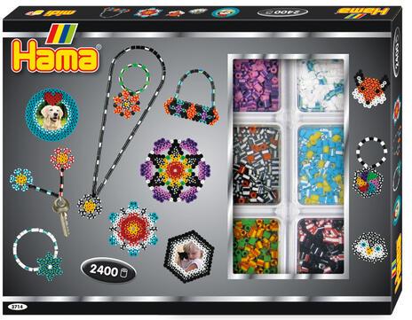 Hama Beads 3714 schema per decorazione con perline