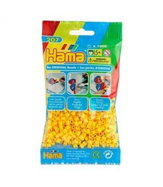 Bustina 1000 perline giallo - 2