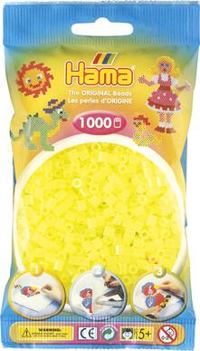 Hama Beads 207-34 profilo Tube bead Giallo 1000 pezzo(i)
