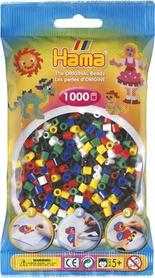 Hama Beads 207-66 profilo Mix di perline Multicolore 1000 pezzo(i)