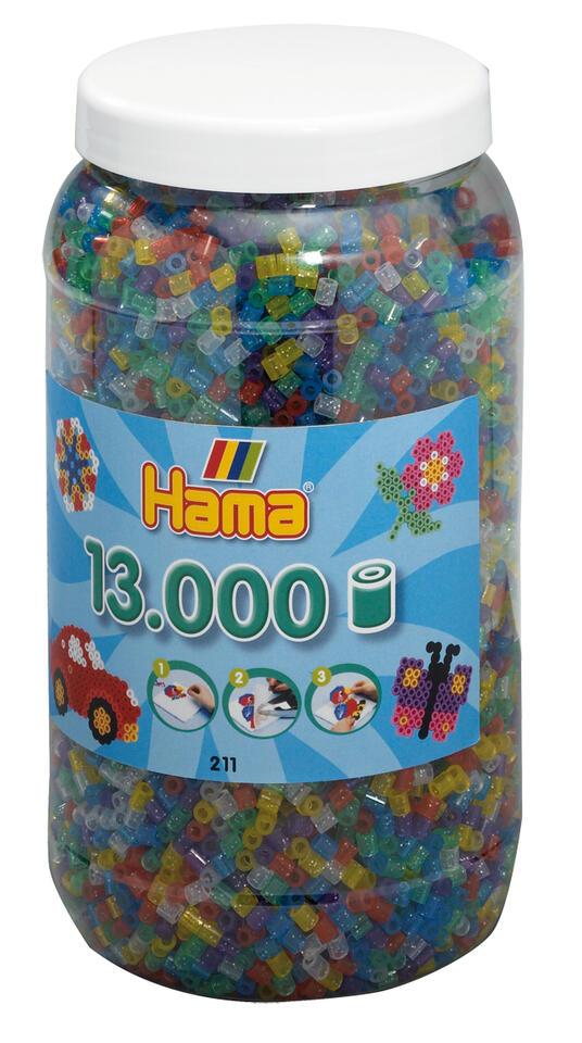 Hama Beads 211-54 profilo Mix di perline Multicolore 13000 pezzo(i)