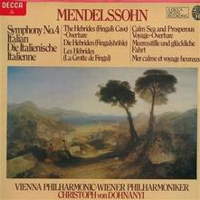 Sinfonia n.4 op 90 'Italiana' in LA (1833) - Vinile LP di Felix Mendelssohn-Bartholdy