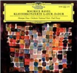 Vinile Concerto per pianoforte in Sol - Concerto per pianoforte in Re Maurice Ravel