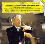 CD Eine Kleine Nachtmusik K525 Wolfgang Amadeus Mozart Herbert Von Karajan Berliner Philharmoniker
