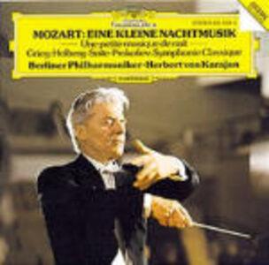 CD Eine Kleine Nachtmusik K525 di Wolfgang Amadeus Mozart