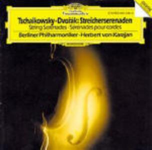 Serenate per archi - CD Audio di Pyotr Il'yich Tchaikovsky,Herbert Von Karajan,Berliner Philharmoniker