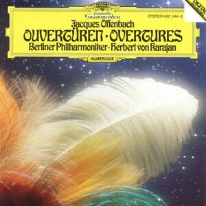 CD Ouvertures di Jacques Offenbach
