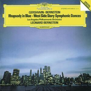 Rapsodia in blu / West Side Story: Symphonic Dances - CD Audio di Leonard Bernstein,George Gershwin
