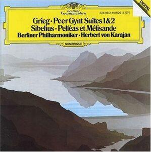 CD Peer Gynt Suites / Pelléas et Mélisande Edvard Grieg , Jean Sibelius