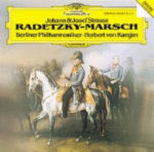 CD Marcia Radetzky Johann Strauss , Josef Strauss