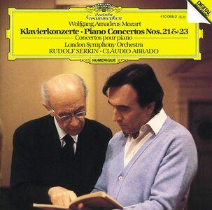 Foto Cover di Concerti per pianoforte n.21, n.23, CD di AA.VV prodotto da Deutsche Grammophon