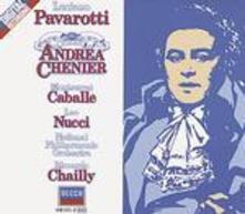 Andrea Chénier - CD Audio di Montserrat Caballé,Luciano Pavarotti,Leo Nucci,Umberto Giordano,Riccardo Chailly,National Philharmonic Orchestra