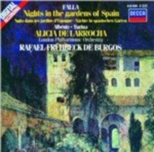 CD Musica spagnola per pianoforte e orchestra