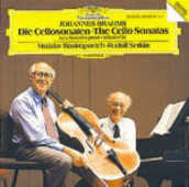 CD The Cello Sonatas Johannes Brahms Mstislav Rostropovich Rudolf Serkin