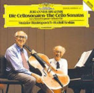 CD The Cello Sonatas di Johannes Brahms